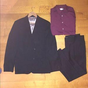 Top man Black Suit
